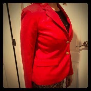 J.Crew Red Blazer
